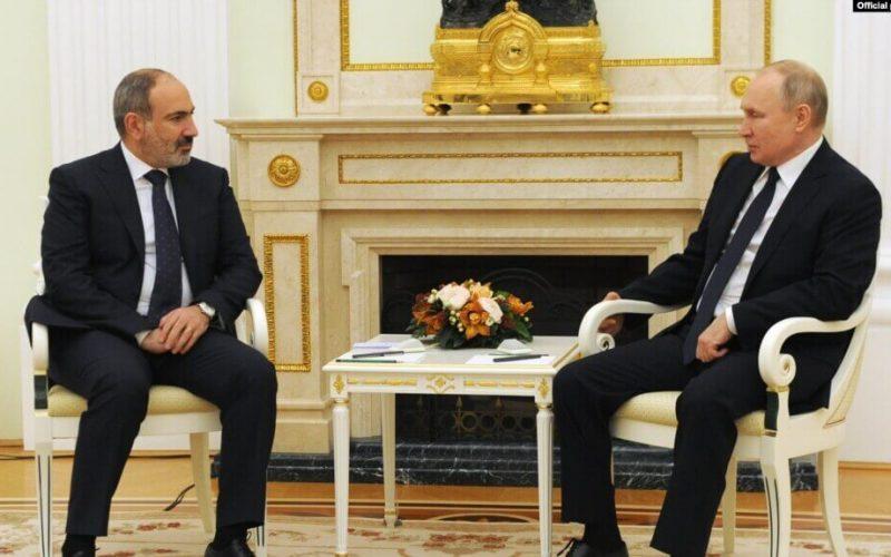 Փաշինյանը Պուտինին առաջարկել է դիտարկել Հայաստանում նոր ատոմակայան կառուցելու հնարավորությունը