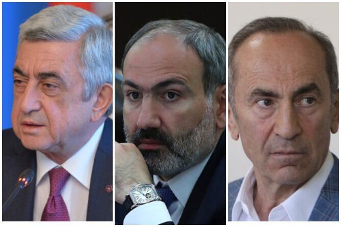 Փաշինյանն՝ ընդդեմ նախկին նախագահների․ ո՞վ կամ ովքե՞ր են դառնալու պարտության «մեղավորներ»
