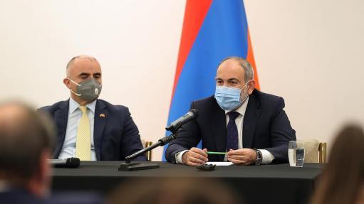 Ես պատրաստ եմ մեր ունեցած բոլոր քարտեզներն ինձ հետ տանել և Ադրբեջանի նախագահին կոչ եմ անում իր հետ բերել մեր բոլոր գերիներին․ Փաշինյան